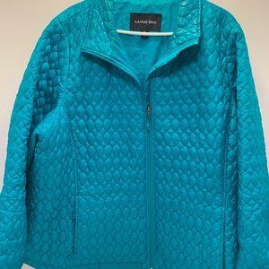 Land End puffer jacket women's 3X
